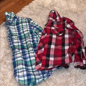 ⭐️ 3 for $20 2pc Boys Long Sleeve Shirts